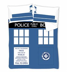 Double Doctor Who Timelord TARDIS Duvet Cover Set from BBC Worldwide