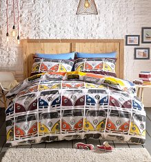 Double Volkswagen Campervan Duvet Cover Set from Ashley Wilde