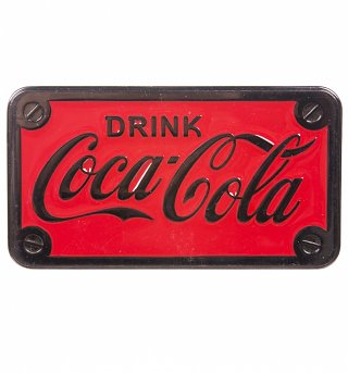 Drink Coca-Cola Belt Buckle