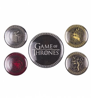 Game Of Thrones Houses Badge Pack