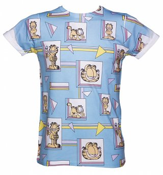 Garfield 90's Sublimation Print T-Shirt from Retro Fred's