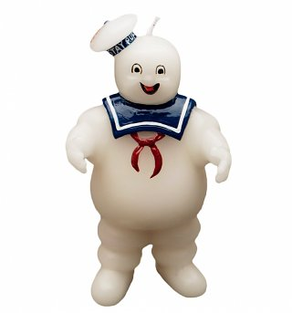 Ghostbusters Stay Puft Candle