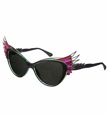 Green Butterfly Cats Eye Wings Sunglasses from Jeepers Peepers