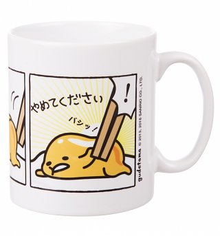 Gudetama Comic Strip Mug
