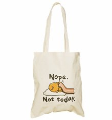 Gudetama Nope. Not Today. Tote Bag