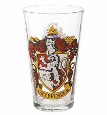 Harry Potter Gryffindor Crest Large Glass