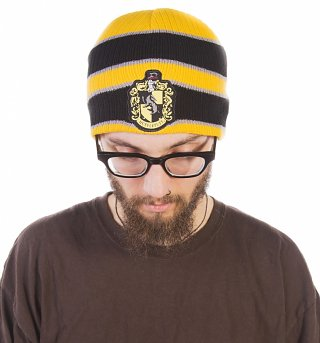 Harry Potter Hufflepuff Knitted Beanie Hat