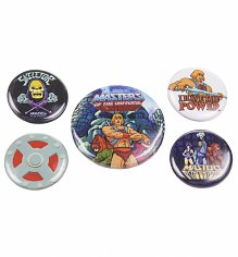 He-Man And The Masters Of The Universe Badge Pack