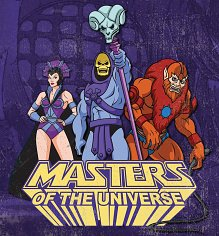 He-Man And The Masters Of The Universe Team Skeletor Canvas Print 40cm x 40cm