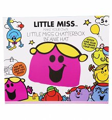 Kids Little Miss Chatterbox  Make Your Own Beanie Hat