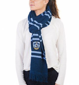 Knitted Harry Potter Ravenclaw Crest Scarf