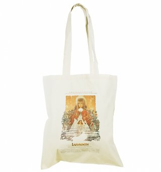 Labyrinth Movie Poster Canvas Tote Bag