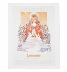 "Labyrinth Vintage Movie Poster 11"" X 14"" Art Print"