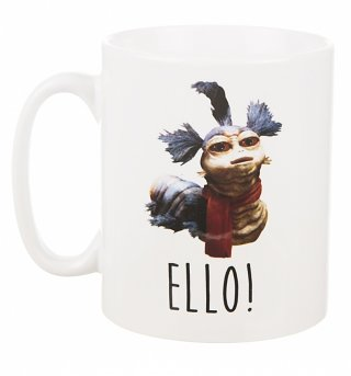 Labyrinth Worm Cup Of Tea Boxed Mug