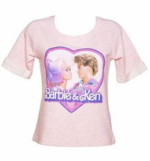 Women's Barbie and Ken Short Sleeved Sweatshirt