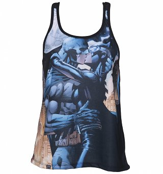 Ladies Batman Kiss DC Comics Vest