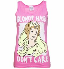 Women's Blonde Hair Don't Care She-Ra Vest