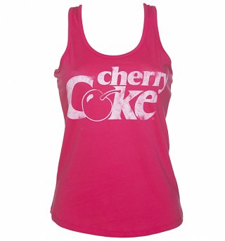 Women's Cherry Coke Retro Logo Vest