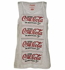 Women's Coca-Cola Repeat Logo Tank Top