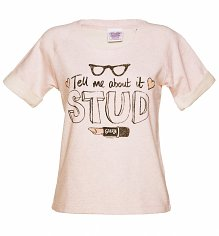 Women's Grease Tell Me About It Stud Short Sleeved Sweatshirt