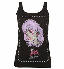 Ladies Jem and the Holograms Wink Vest
