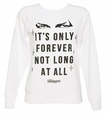 Ladies Labyrinth It's Only Forever Not Long At All Sweater