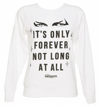 Women's Labyrinth It's Only Forever Not Long At All Sweater