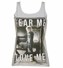 Ladies Labyrinth Jareth Fear Me Love Me Vest
