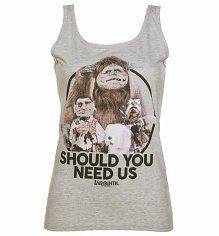Ladies Labyrinth Should You Need Us Vest
