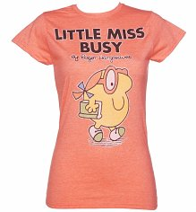 Ladies Little Miss Busy T-Shirt