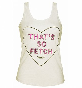 Ladies Mean Girls That's So Fetch Vest