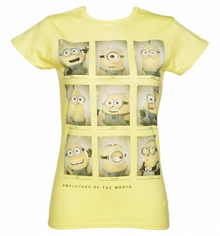 Women's Minions Employees of the Month T-Shirt