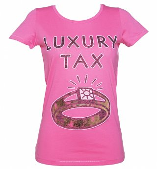 Women's Monopoly Luxury Tax Foil Print Scoop Neck T-Shirt