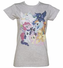 Women's My Little Pony Friendship Is Magic Burst T-Shirt