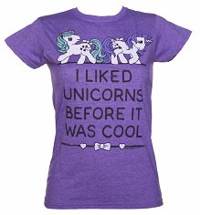 Ladies My Little Pony Unicorn T-Shirt
