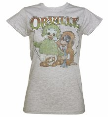 Ladies Orville and Cuddles T-Shirt