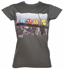 Women's Pac-Man Skyscraper T-Shirt