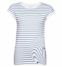 Ladies TARDIS Swirl Doctor Who T-Shirt from BBC Worldwide