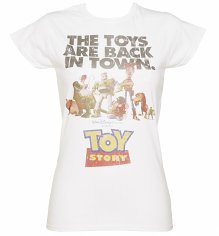 Women's Toy Story Toys Are Back In Town Disney T-Shirt