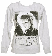 Ladies You Remind Me Of The Babe Bowie Labyrinth Sweater