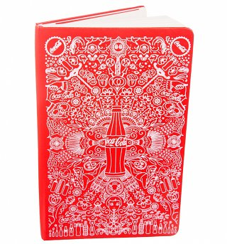 Limited Edition Coca-Cola Large Ruled Notebook