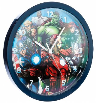 Marvel Comics Avengers Wall Clock