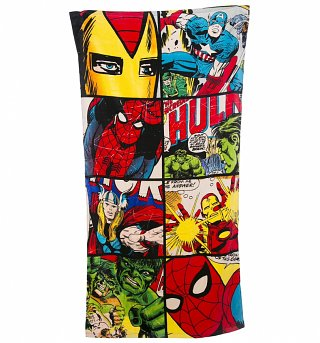 Marvel Comics Defenders Beach Towel