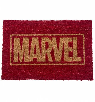 Marvel Comics Logo Door Mat