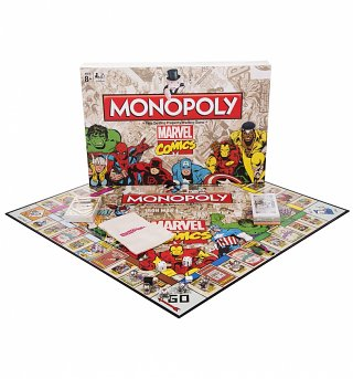 Marvel Comics Monopoly Game Set