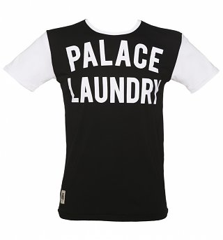 Men's Black And White Palace Laundry Mick Jagger T-Shirt from Worn By