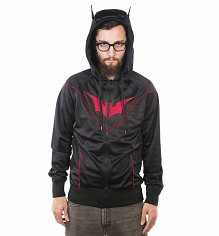 Men's Black DC Comics Batman Hoodie With Ears