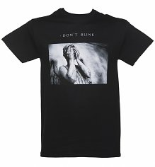 Men's Black Doctor Who Don't Blink Statue T-Shirt