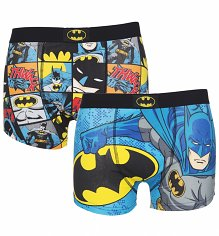 Men's DC Comics Batman 2 Pack Boxer Shorts