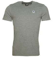 Men's Grey Marl Star Wars R2-D2 Crest T-Shirt from Chunk